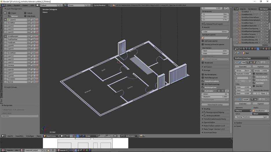 Architekturdesign & Animation in Blender - 3D-Grafik 5