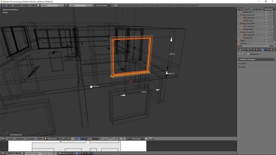 3D-Modellierung: Architektur 6