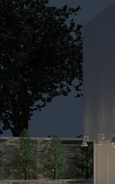 Baum in Bledner gestalten