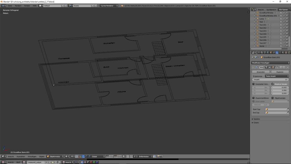 3D-Modellierung: Architektur