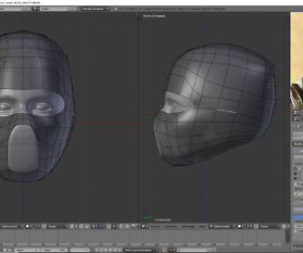 3D Charakter: Ninja