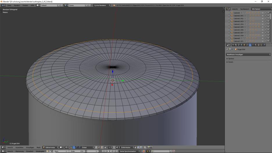 3D-Visualisierung: Küche Part 6 9
