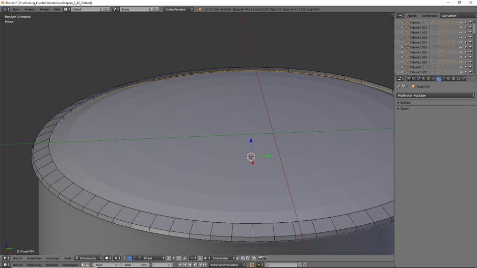 3D-Visualisierung: Küche Part 6 10