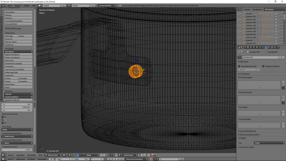 3D-Visualisierung: Küche Part 6 12