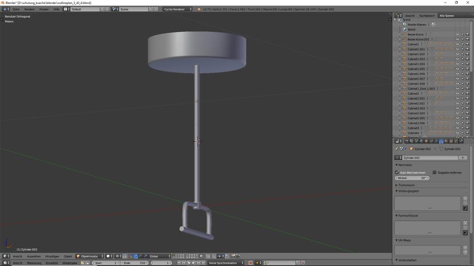 3D-Visualisierung: Küche Part 6 2