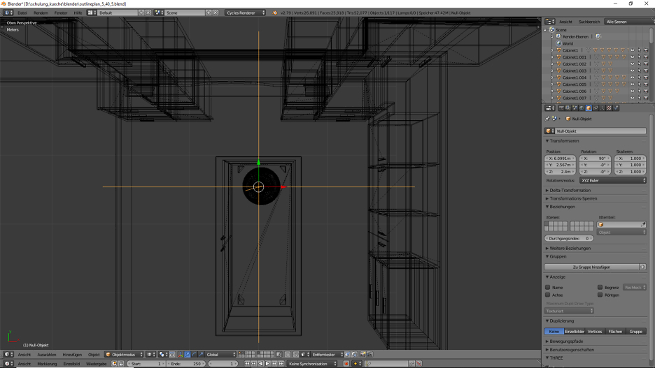 3D-Visualisierung: Küche Part 6 7