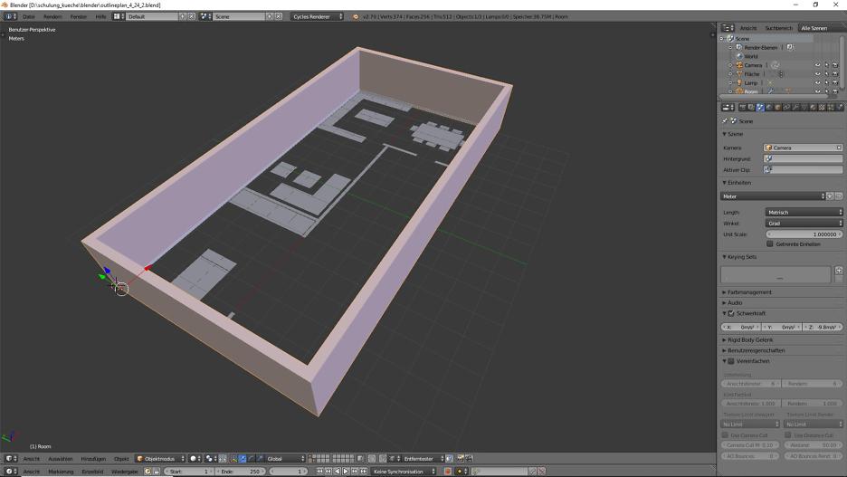 3D-Visualisierung: Küche Part 3 2