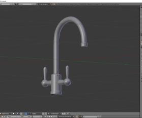 3D-Visualisierung: Küche Part 8