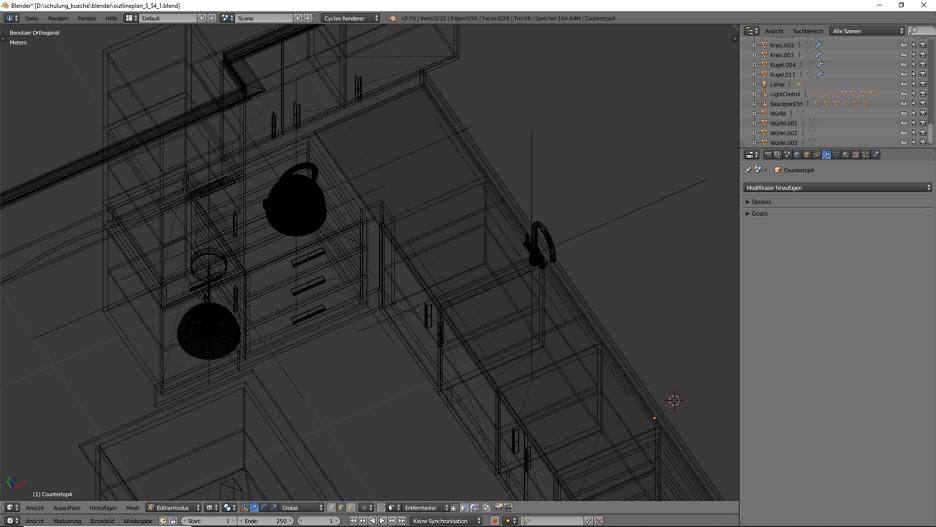3D-Visualisierung: Küche Part 8 1