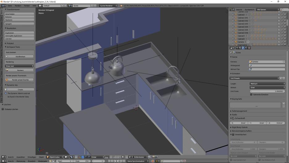 3D-Visualisierung: Küche Part 8 2