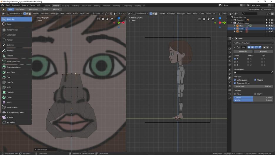 3D-Modelling mit Blender 2.80 1