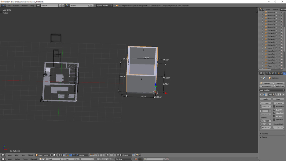 Erstellung einer Garage