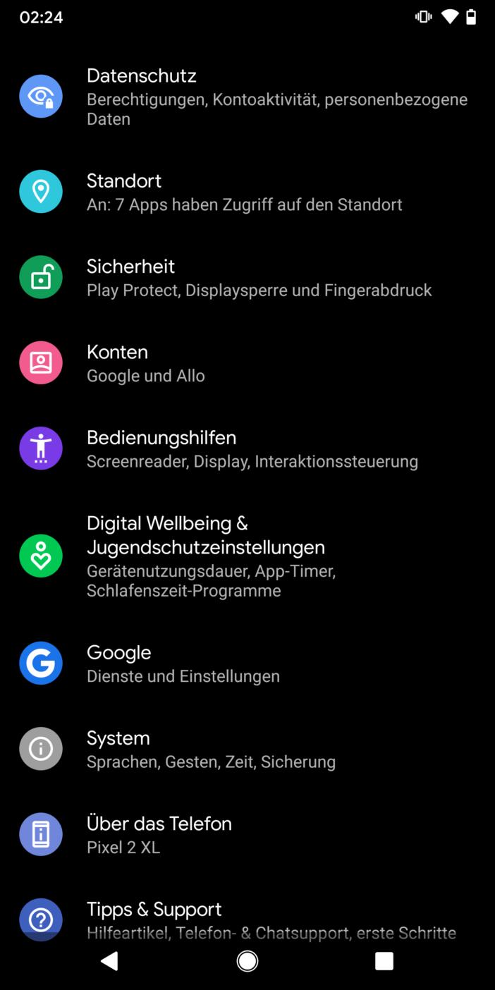 Entwicklung einer App 17