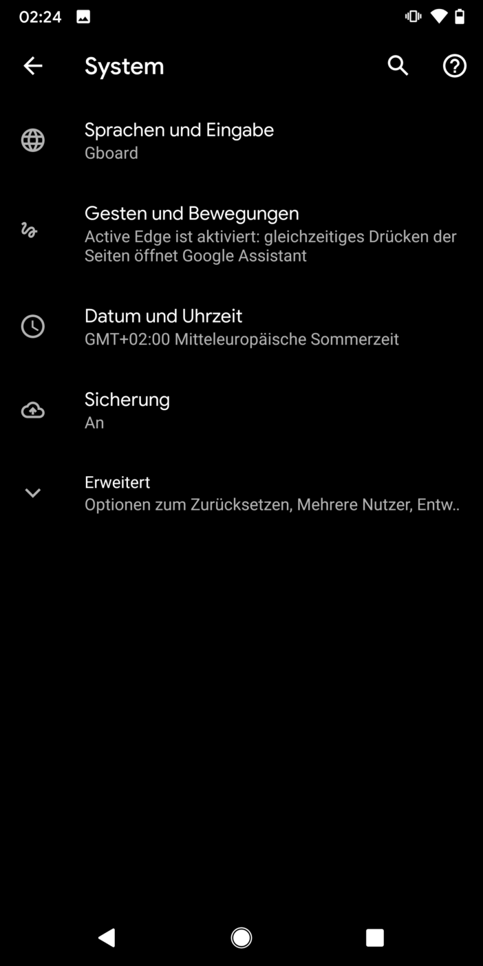 Entwicklung einer App 16