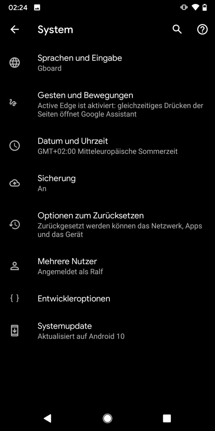 Entwicklung einer App 15