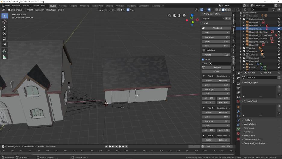 Blender 2.80: Garage