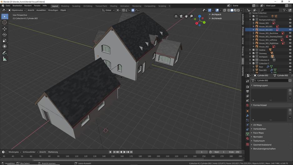 Blender 2.80: Garage 1