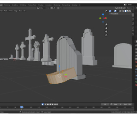 UV-Mapping für unsere 3D Elemente für Spiele