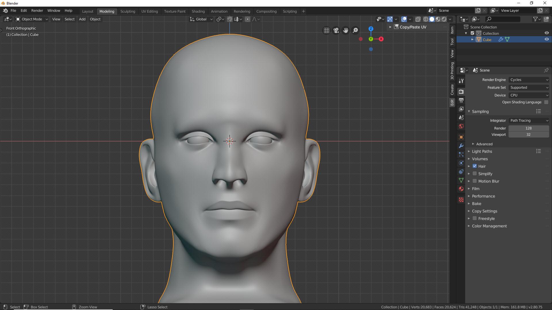 Blender Character Modeling