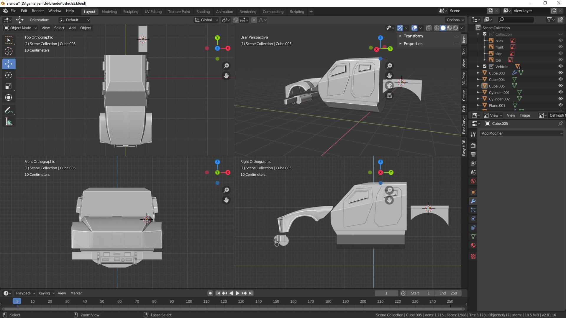 Fahrzeug für Gamer Teil 3 2