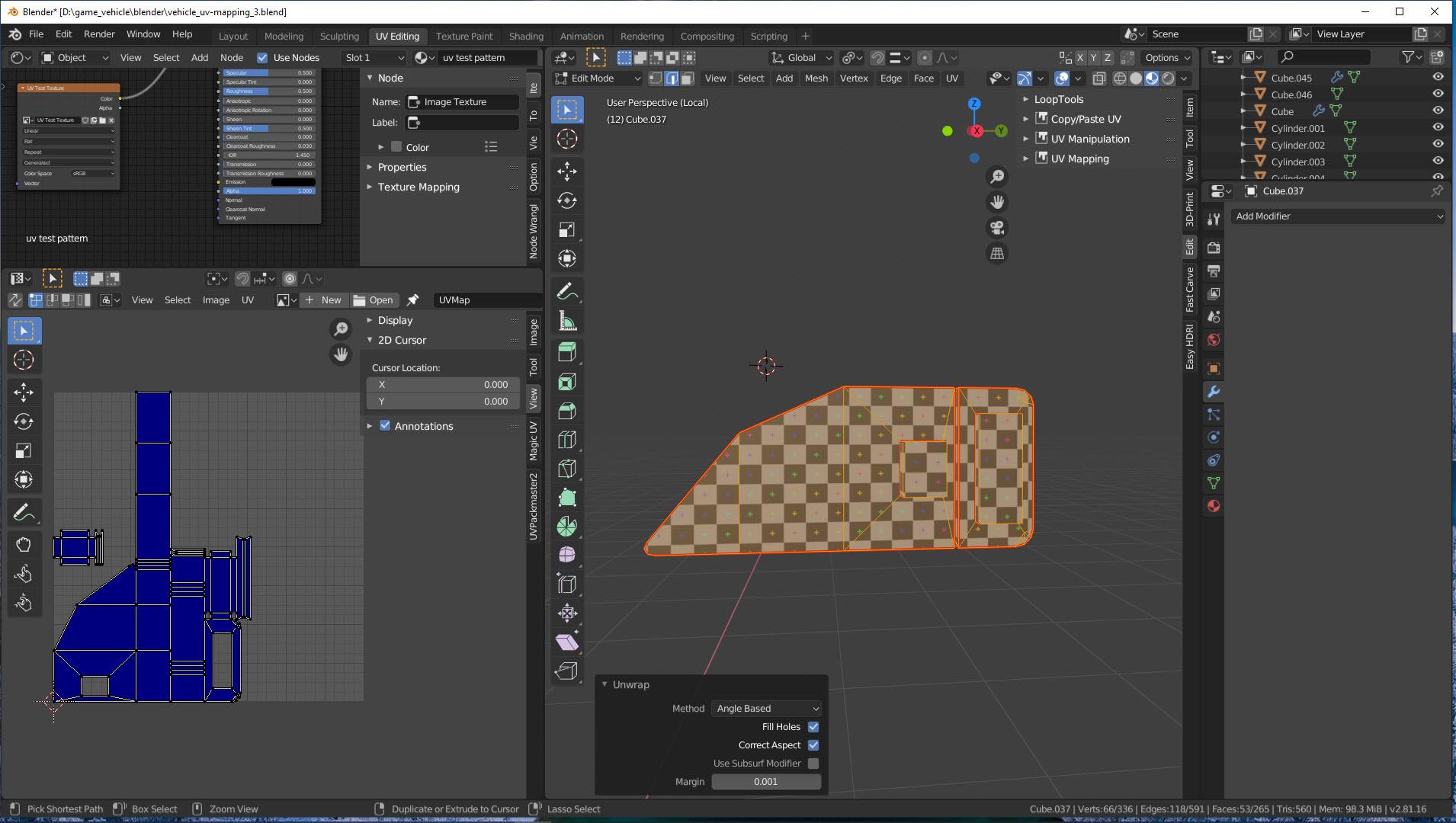 UV-Mapping Bild 4