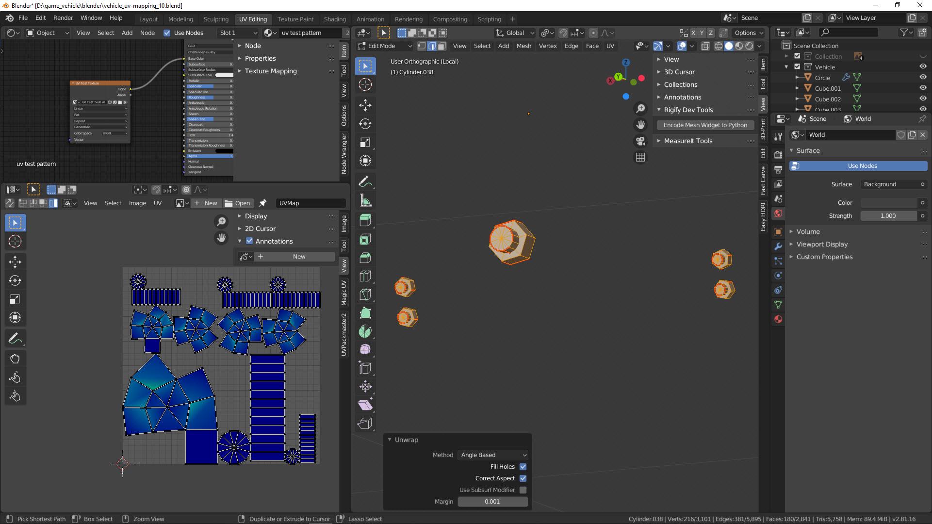 UV-Mapping Bild 13