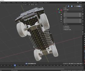 UV Mapping: Fahrzeug für Gamer Teil 19