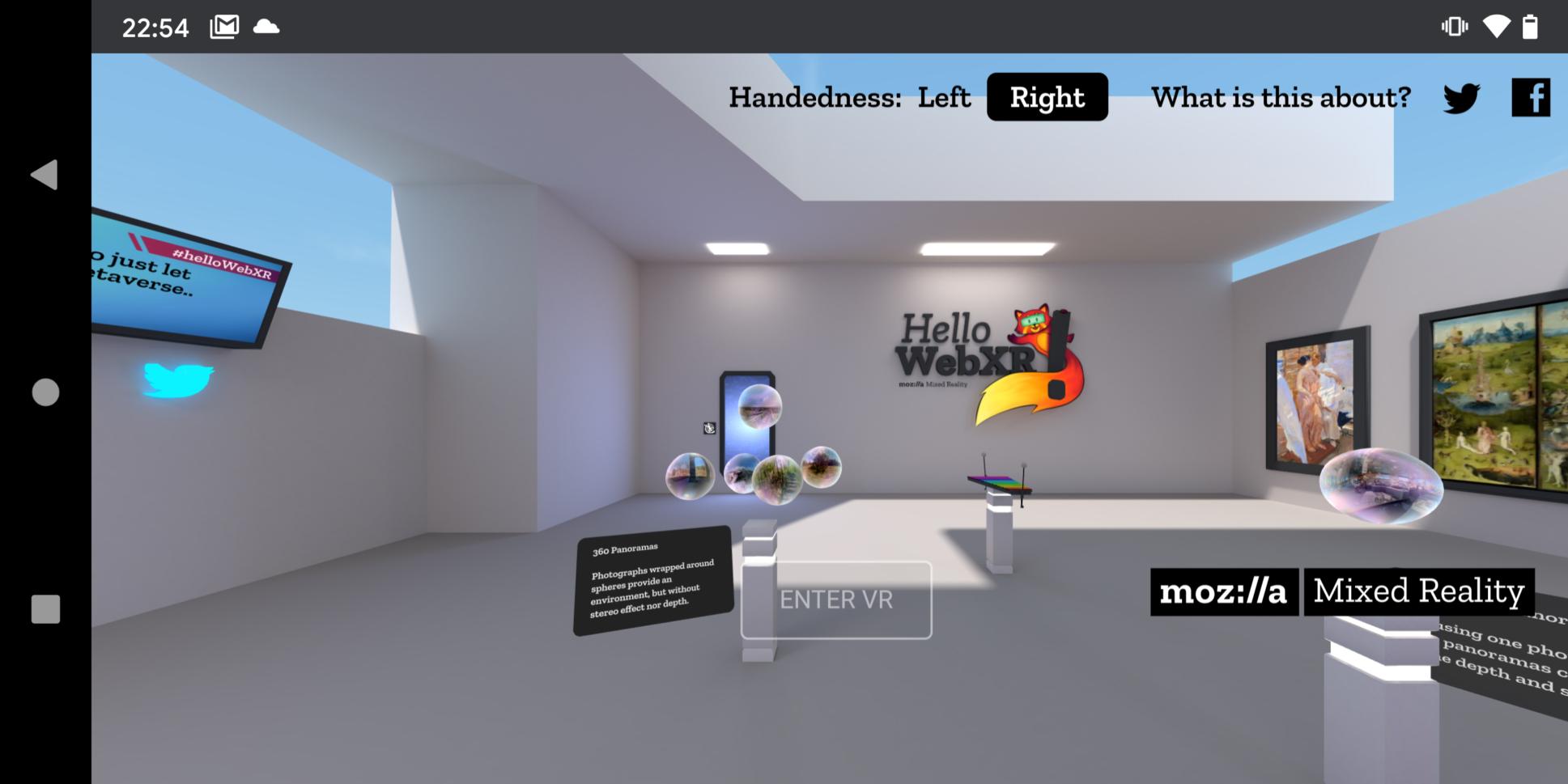 Mozilla: Hello WebXR 1