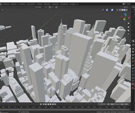 Blender: The City