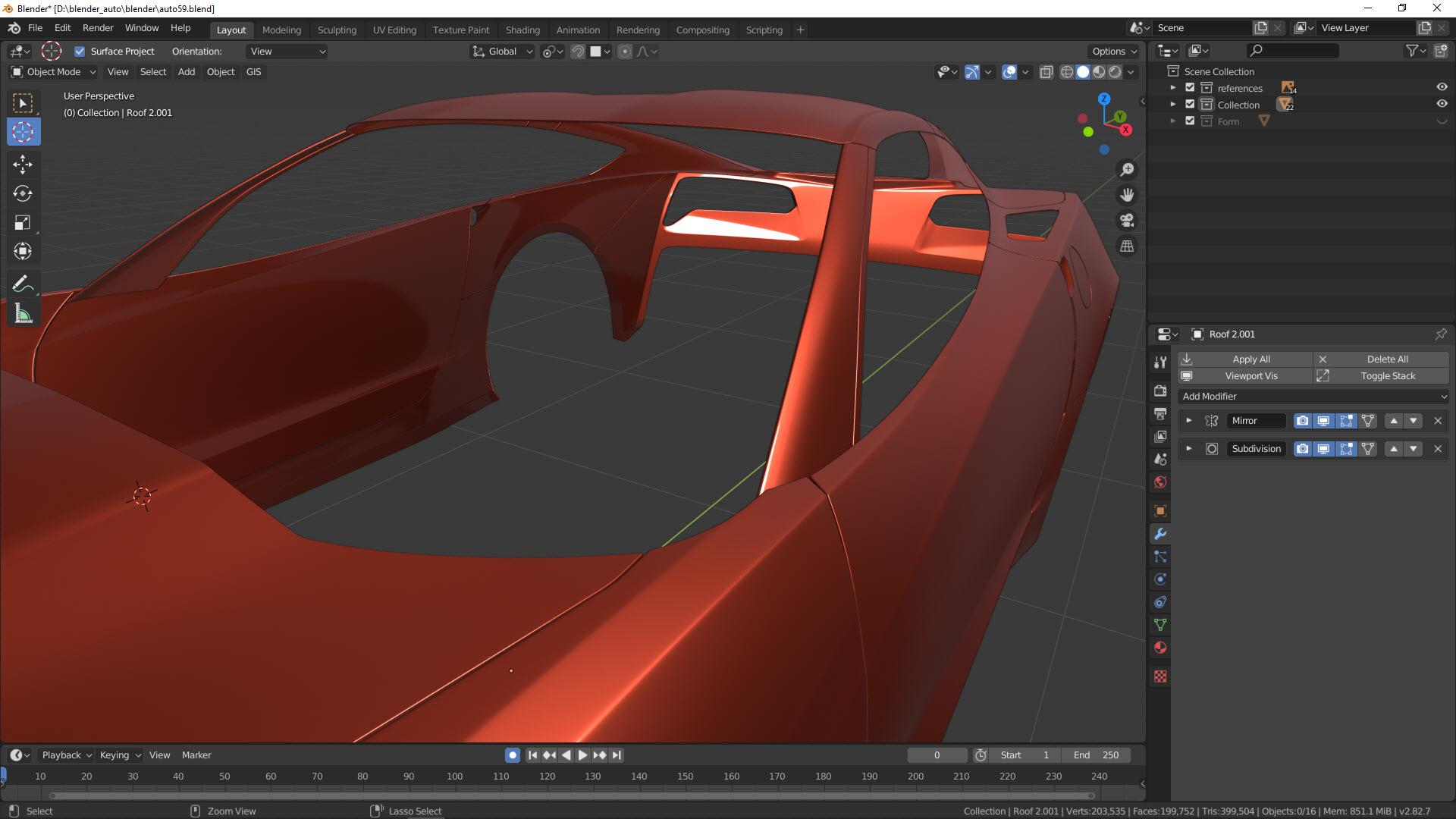 Car Modeling