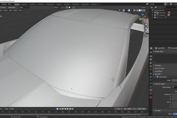 Blender: Car Modeling Teil 16