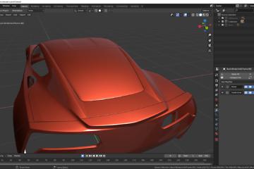 Blender: Car Modeling Teil 17