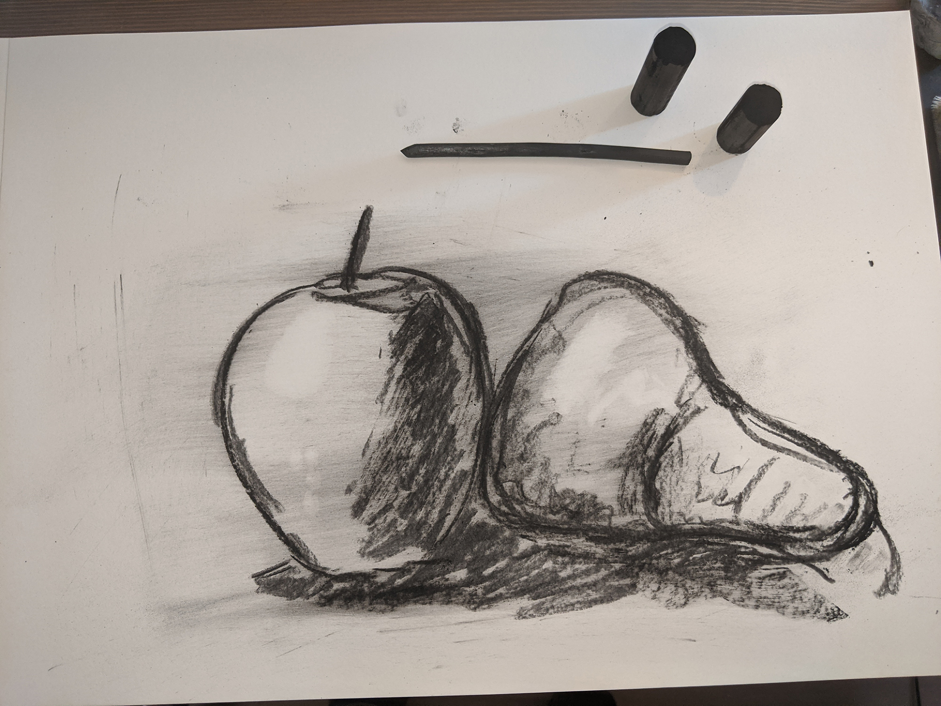 23.04. Gesture Drawing Of Organic Objects