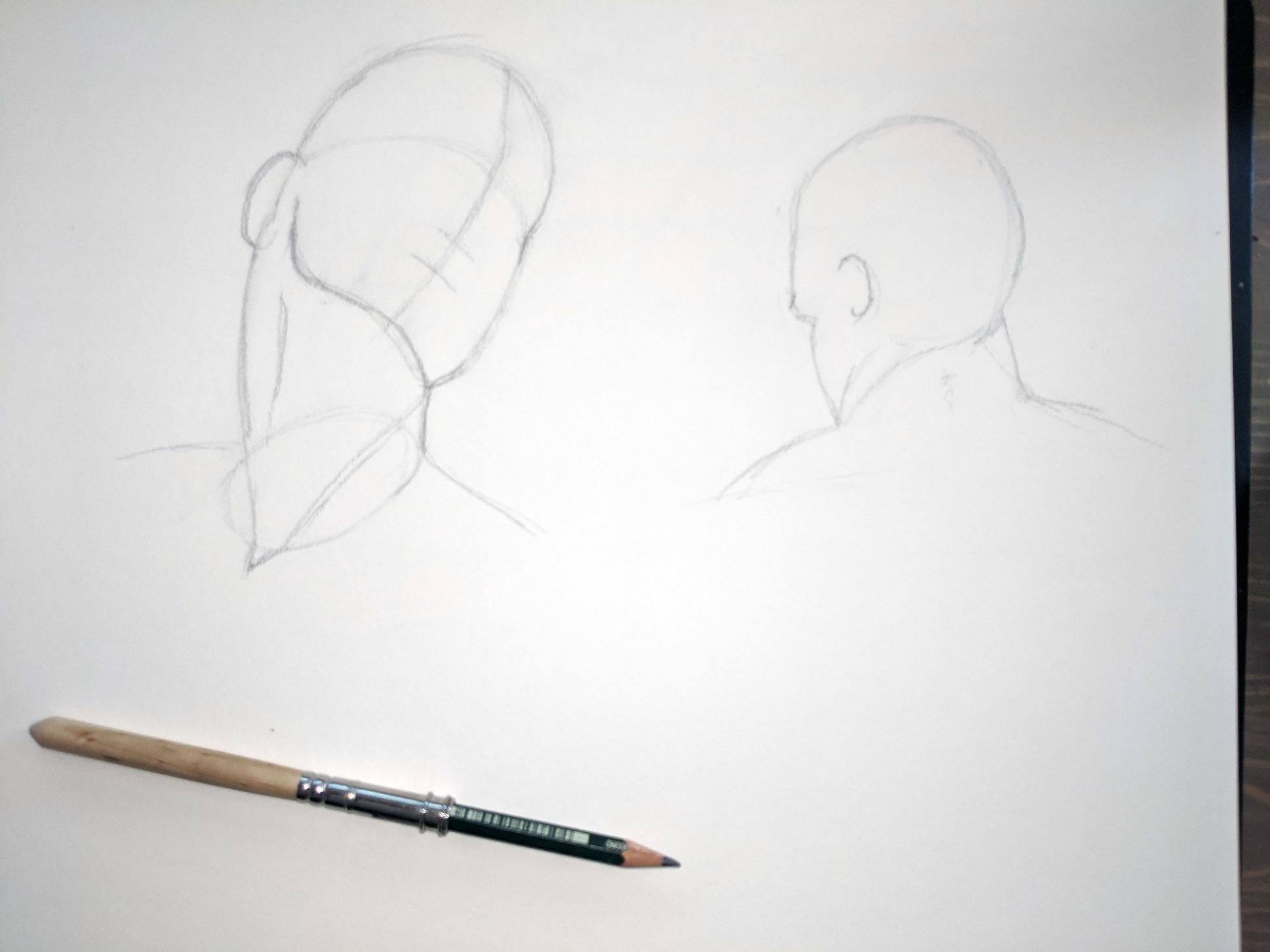 Kopf und Hals