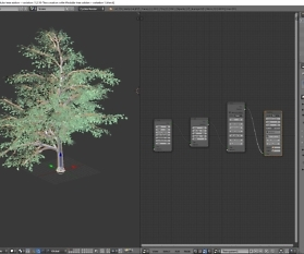 Blender: Modular Tree Addon