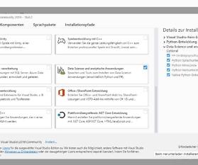 Visual Studio Einrichten