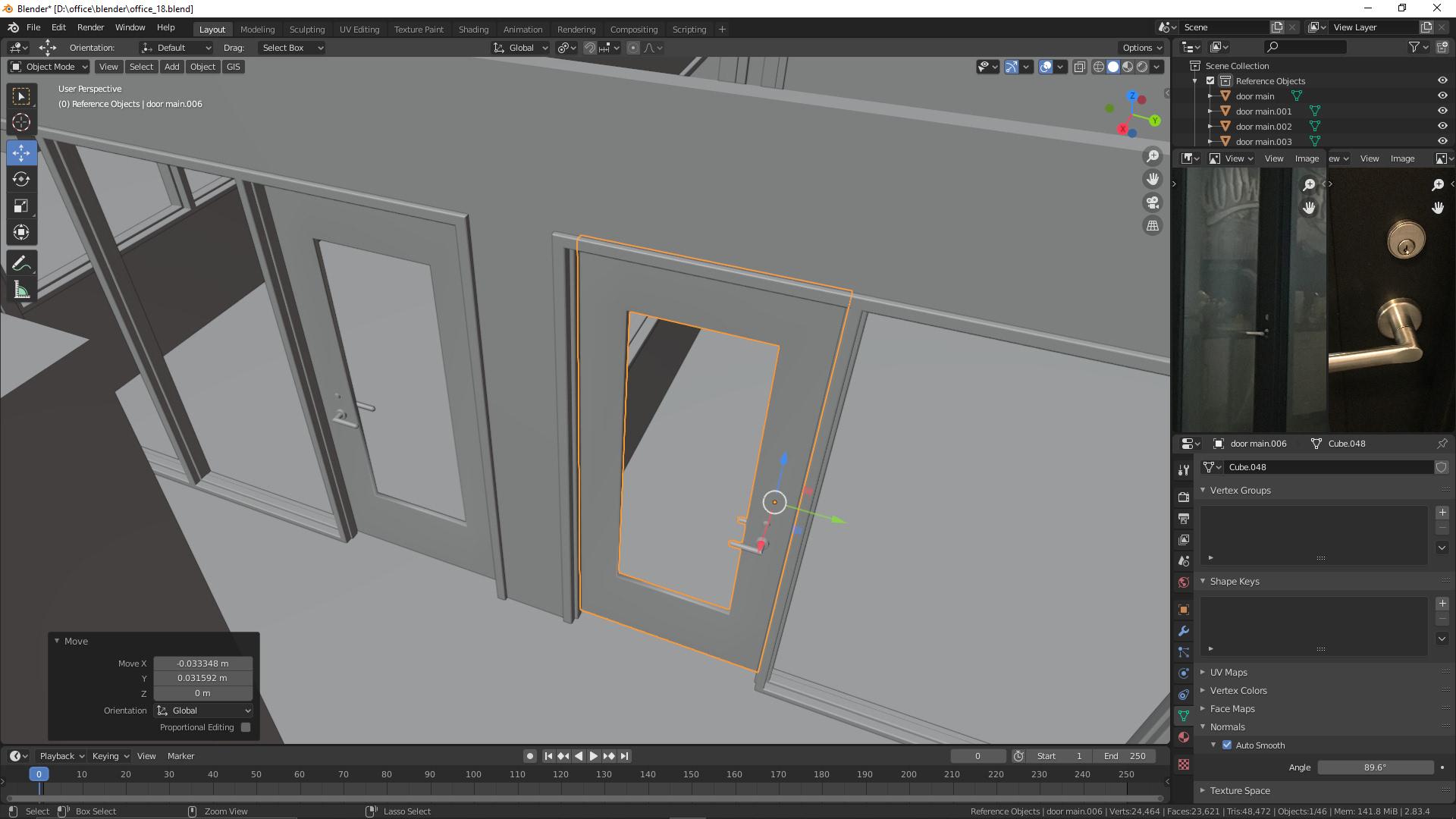 Türen für Büroetage