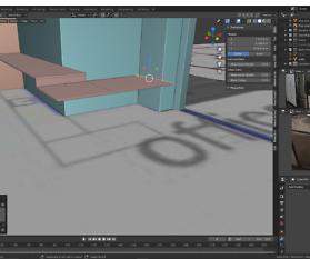 Küche für Büroetage: 3D-Immobilien Visualisierung