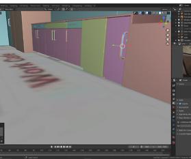 3D-Immobilien Visualisierung: Küchenmöbel
