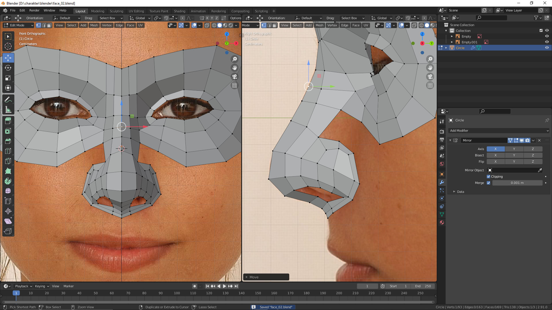 Ihr zweites Ich in 3D: Fotovorlagen
