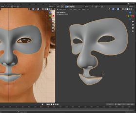 3D – Charakter Modellierung nach Fotovorlagen