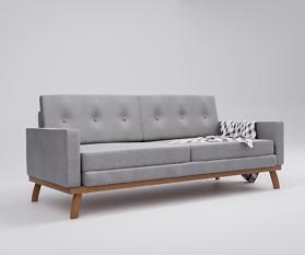 Blender: Couch-Model