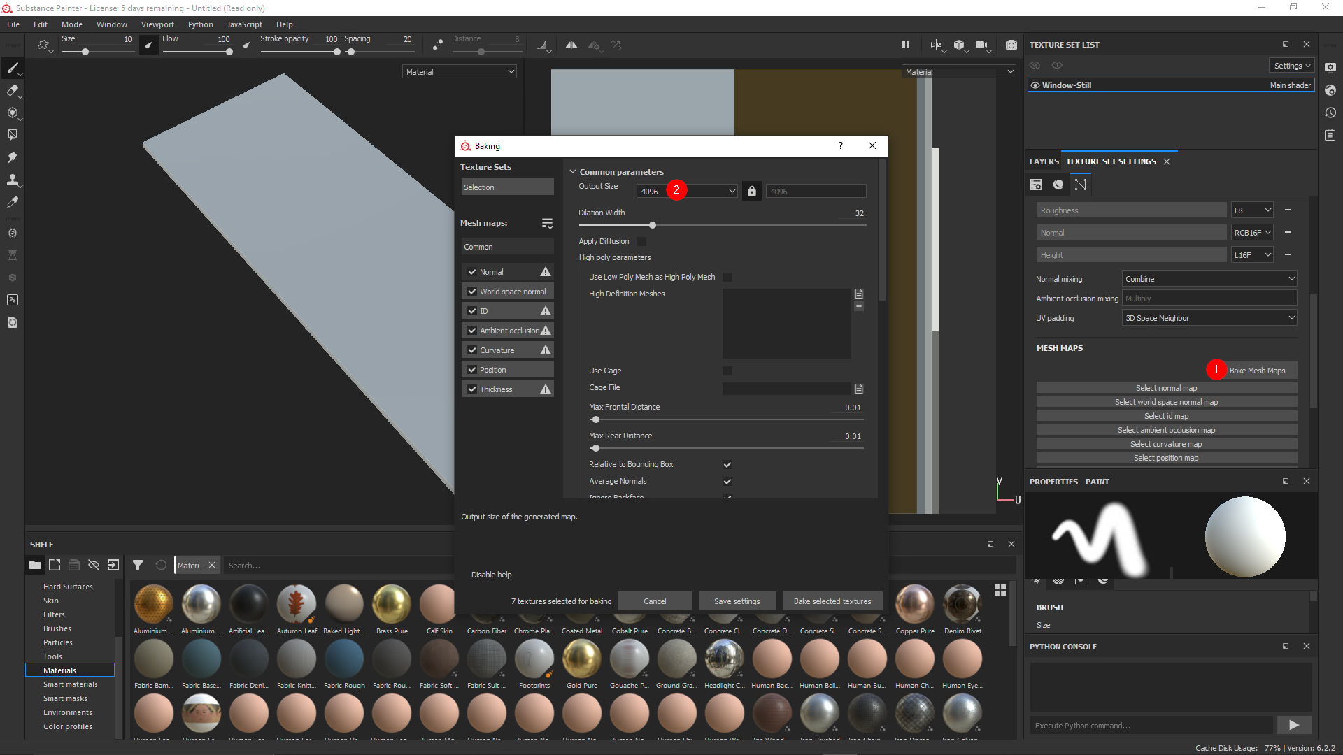 Import Substance Painter