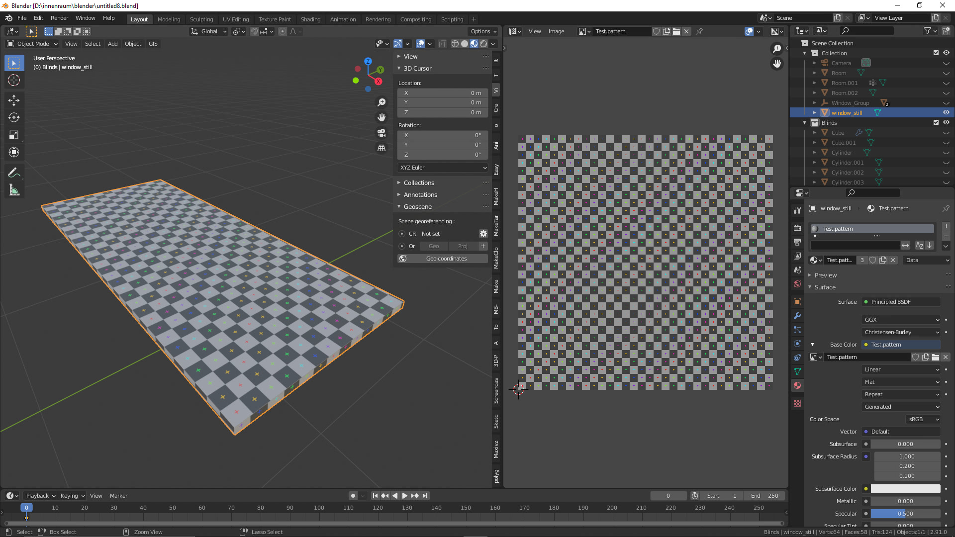 Blender UV Map