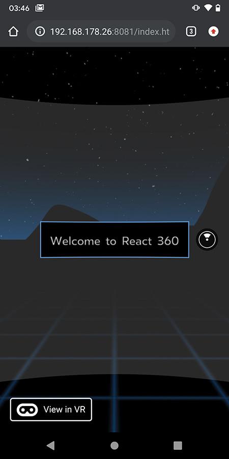 Installation: React360