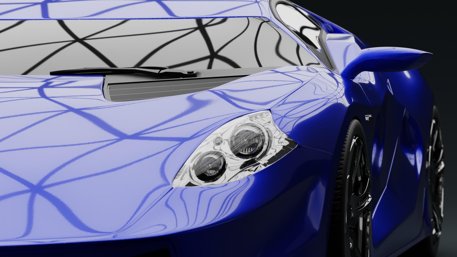 Supersportwagen Car Modeling