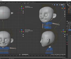 Charakter mit Blender erstellen