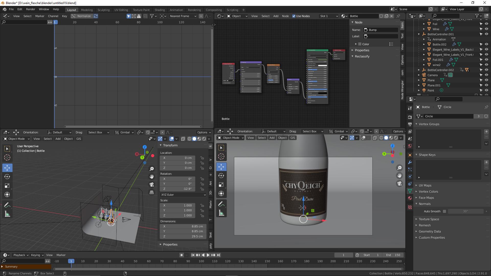 Produkt-Animation