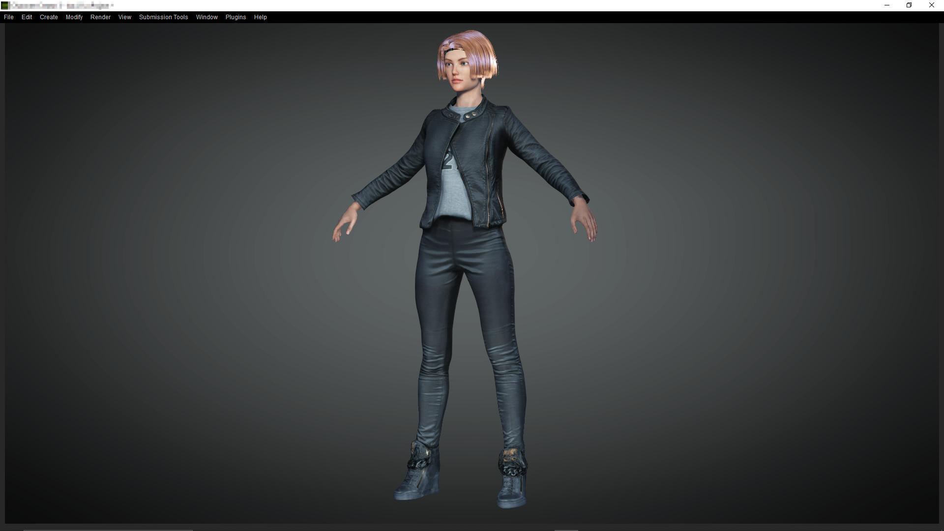 3D Charakterdesign Kleidung