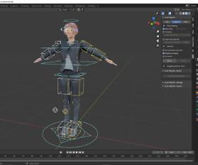 3D Charakterdesign: Claudia bekommt ein neues Rig